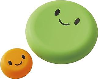 コジット ベジシャキ ダイちゃんキャロちゃん グレーン&オレンジ 大小2個 野菜保存カバー