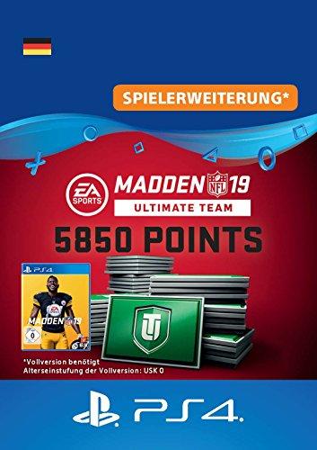 Madden NFL 19 Ultimate Team 5850 Points Pack - 5850 Points DLC | PS4 Download Code - deutsches Konto