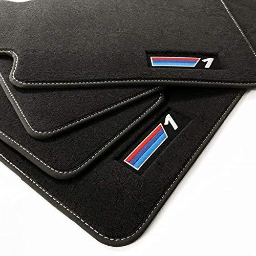 Tappetini per BMW 1er e88 Cabrio originale qualità velluto cucitura doppia 4x Velcro