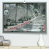 Unterwegs in Jerusalem (Premium, hochwertiger DIN A2 Wandkalender 2022, Kunstdruck in Hochglanz): Eine lebendige Stadt laedt ein... (Monatskalender, 14 Seiten )
