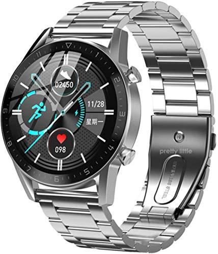 DT92 reloj inteligente hombres s Bluetooth llamada 1.72 pulgadas pantalla táctil Retina pantalla de carga inalámbrica smartwatch para Android IOS-F