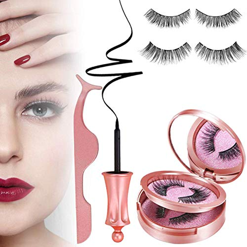 56% off Magnetic Eyeliner and Lashes - 2 Pairs Add lightning deal price. Price as marked. No promo code needed. 2