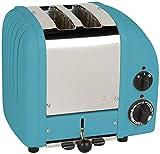 Dualit 2 Slice Classic Toaster, Azure Blue