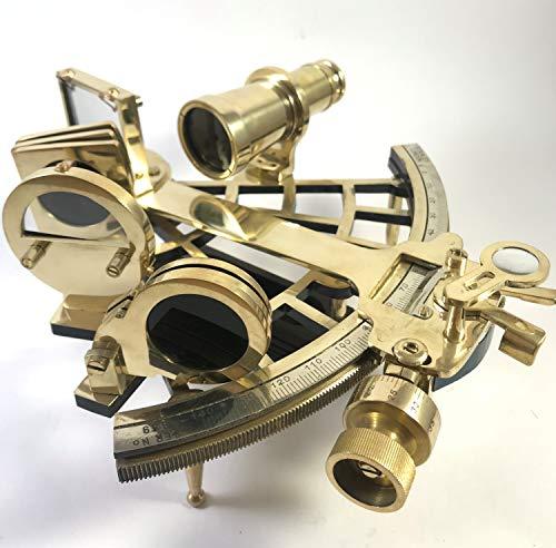 Sextant antik by PEERLESS sextant funktionsfähig| sextant messing| sextant navigation| sextant vintage| klein metall modern real nautik groß marine deko