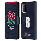 Head Case Designs sous Licence Officielle England Rugby Union Position 8 2020/21 Joueurs Away Kit...