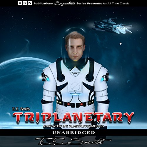 Triplanetary Audiobook By E.E. Smith cover art