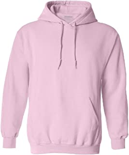 Joe's USA Hoodies Soft & Cozy Hooded Sweatshirt,5X-Large Light Pink