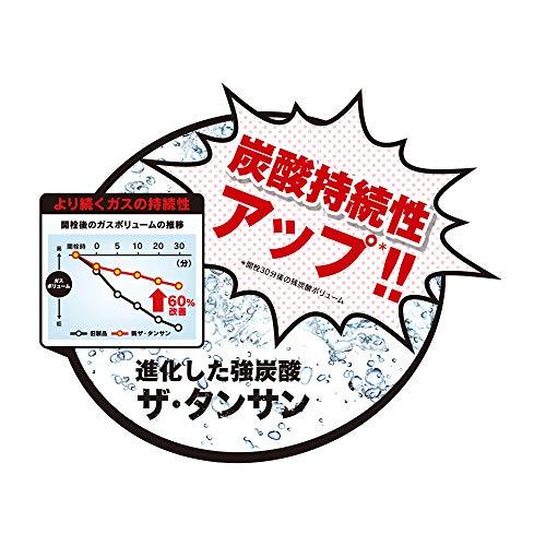 【強炭酸水】コカ・コーラカナダドライ新ザ・タンサンストロング490mlPET×24本