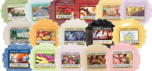 Yankee Candle, 6 tart di cera con profumi misti, pout pourri, per bruciatore di essenze (fragranze miste)
