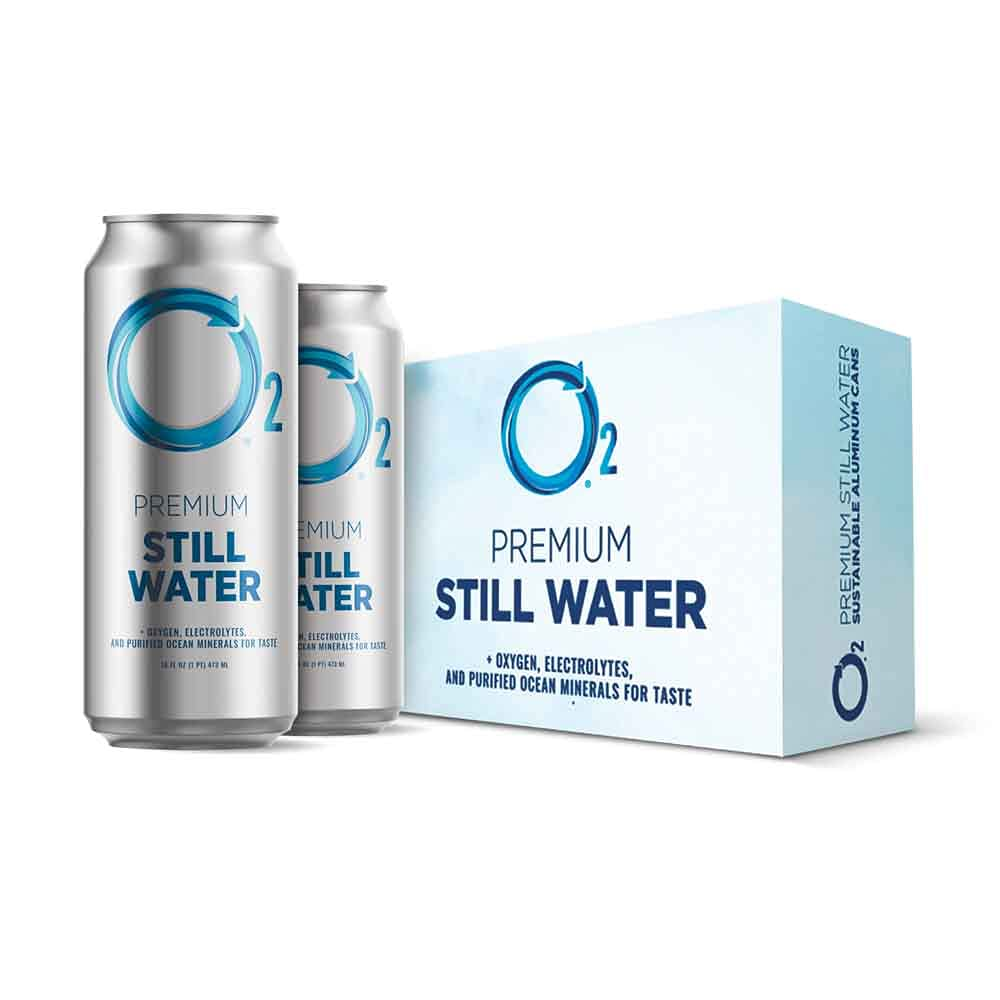 O2 Oxygenated Water - trust Drinking Still Natural Classic