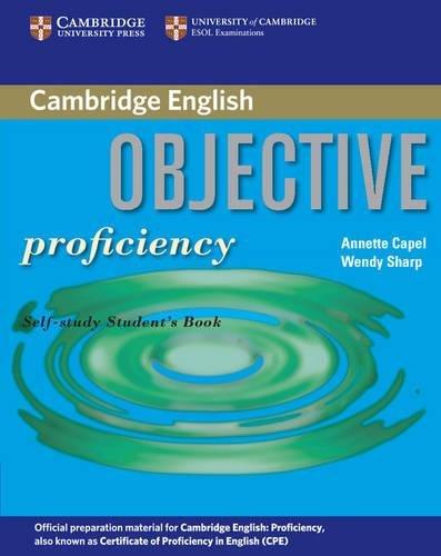 Objective Proficiency. Self-Study Student's Book
