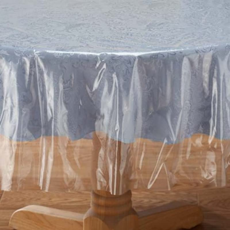 Crystal Clear Tablecloth Cover Vinyl Table Protector 60 X 90 Oblong