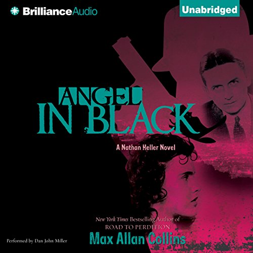 Angel in Black audiobook cover art