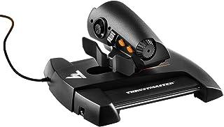 Thrustmaster - TWCS - Mando de Potencia - PC - Tecnología S.M.A.R.T.(Sliding Motion Advanced Rail Tracks): 5 Ejes + 14 Botones + un Hat Switch Point of View de 8 direcciones