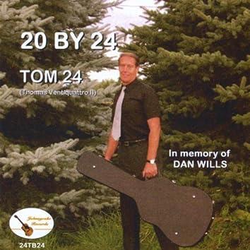 20 By 24 - In Memory Of Dan Wills