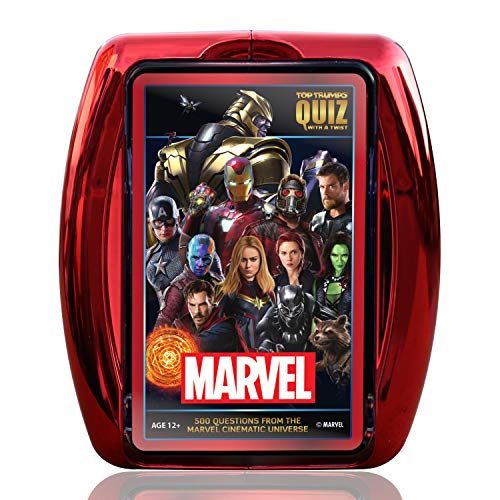 Marvel Cinematic Universe Top Trumps Quiz Gioco
