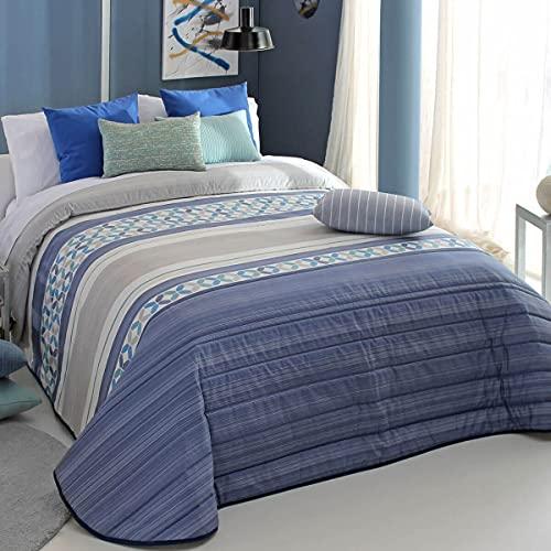 Reig Marti Edredón Yale 2A - Cama 90 Cm - Color Azul C03