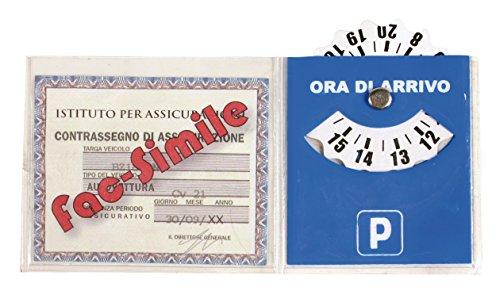 Lampa 65344Steuerplakettenhalter Versicherung mit Parkscheibe