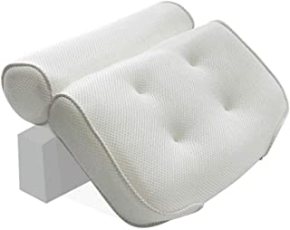 KUNXIAOY Bathtub Pillow Non-Slip Super Thick Spa Head Pillow Neck Shoulder Back Support Soft Suitable for Any Bathtub Bath Pillow Cushion