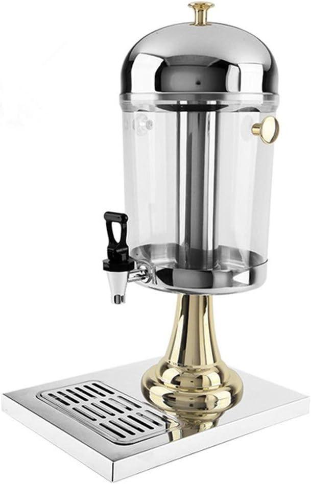 Jugo Dispensador Juguera, leche té Cubo, Bebida fría de pantalla plana, de acero inoxidable Dispensador de agua, hielo profesional industrial de calentar fabricante de la bebida dispensador de bebidas