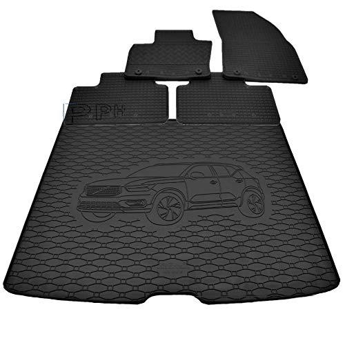 X & Z PPH – Diseño combi – Alfombrilla de goma antideslizante para Volvo XC40 a partir de 2018