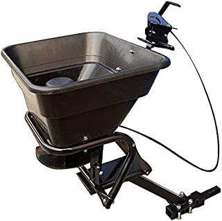 atv hitch mounted salt spreader