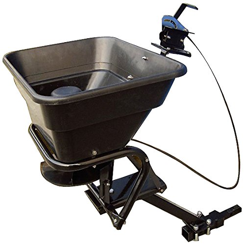Lowest Price! Field Tuff AS-80ATV12 Receiver Mount Spreader, 80-Pound