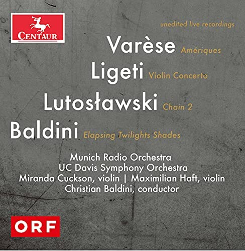 Christian Baldini & UC Davis Symphony Orchestra