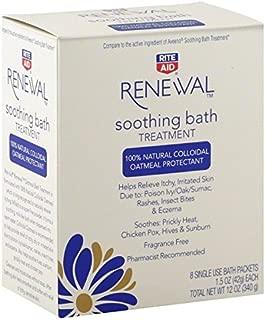 Rite Aid Renewal Soothing Bath Treatment Packets, 1/5 oz - 8 ct