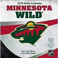 Turner 1 スポーツ ミネソタ ワイルド 2019 ボックスカレンダー デスクカレンダー (19998051462)