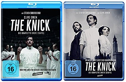 Blu-ray Set * The Knick - Season / Staffel 1+2