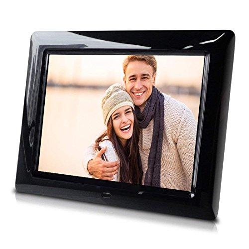 8 inch Slim Digital Photo Frame - Auto Slideshow, Photo Rotation, Plug and Play. Digital Frames Picture
