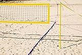 RASport Wilson Pro Plus - Equipo de voleibol para playa (incluye marcación de campo de juego, antena de red y pelota de voleibol)