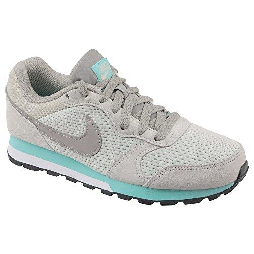 Nike MD Runner 2, Scarpe da Running Donna, Multicolore, Grigio, 001, 35.5 EU