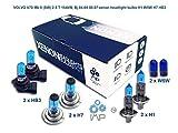 volvo v70 mk ii sw 2.5 t 154kw, bj 04.04-08.07 lampadine allo xenon h1 w5w h7 hb3
