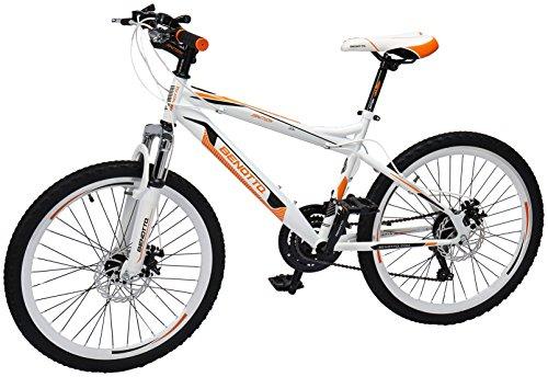 Benotto Ignition FS MTB Bicicleta de Acero, 21 Velocidades, Extra Large