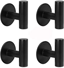 YAKAON Self-Adhesive Hooks, Heavy Duty Kitchen Bathrooms Robe Hooks, Towel Stands Sticky Wall Hook, Toilet Waterproof and ...
