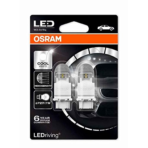 Osram 3757AK Lampadina Py27//7W 12V W2.5 x 16Q Set di 10