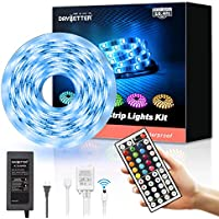 Daybetter 16.4ft Waterproof Color Changing Led Strip Lights