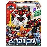 Miniforce Super Dino Power 2 STEGO Magma Transformer Dinosaurs Robot Figure Toy