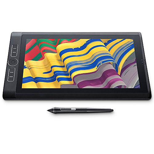 WACOM DTH-W1320L-UK Mobilestudio Pro 13 128GB Englisch Tablet-PC (Intel Core i5-7750H, 8GB RAM, Iris Graphics 550HD, 33,78 cm (13,3 Zoll)) schwarz