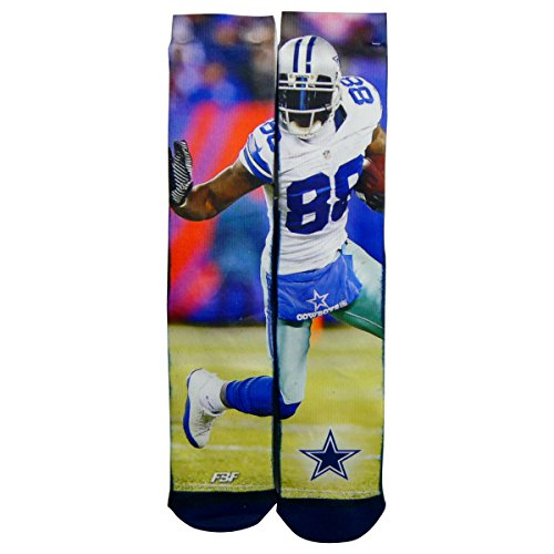 Dallas Cowboys Dez Bryant Field Stripe Sublimation Socks