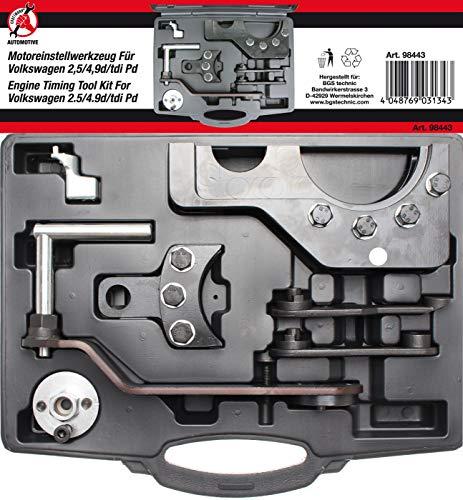Kraftmann 98443 | Motor-Einstellwerkzeug-Satz | für VAG 2.5 / 4.9D / TDI Pumpe-Düse