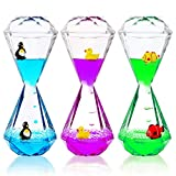YUE MOTION - Liquid Motion Bubbler for Kids & Adults [3-Pack] | Liquid Timer for Sensory Play, Calming &Relaxing, Autism Toys | Sensory Desk Toys (Style#2)