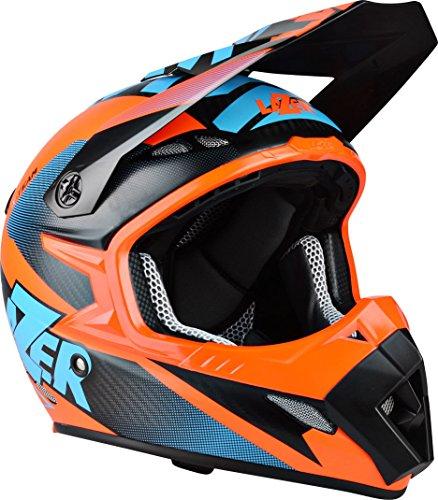 Lazer MX8 X-Team Pure Carbon Crosshelm M (57/58) Orange Matt