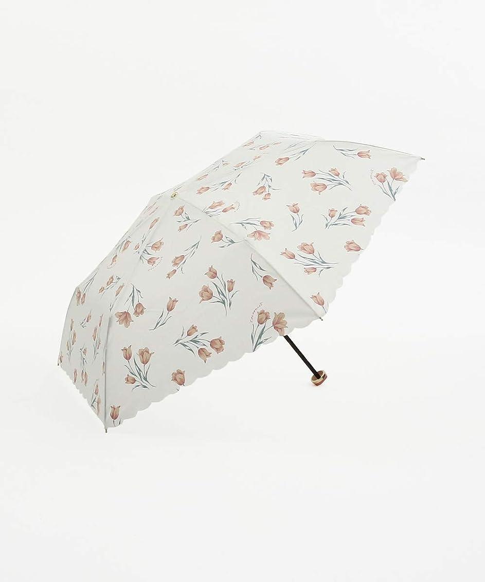 リンケージオークション交響曲[ コクーニスト ] Cocoonist チューリップ柄 晴雨兼用 折りたたみ傘 雨傘