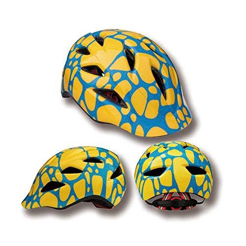 FAGavin Casco de seguridad para niños con lengua de pato, para montar en bicicleta, equilibrio y seguridad (color: amarillo y azul)
