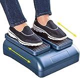 Ejercitador de peddler, máquina de fisioterapia para ejercicios de circulación pasiva de piernas para personas mayores que aumenta la actividad de los pies y las piernas y el flujo sanguíneo mientras