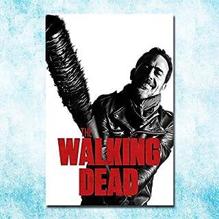 The Walking Dead Temporada 1 a 7 Impresión de póster en lienzo de seda de arte 13x20 20x30 pulgadas Imagen Decoración de la pared 40x60cm
