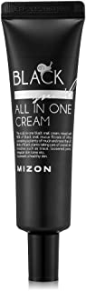 Mizon Black Snail All in One Cream, 90% Black Snail Mucin Extract, Day and Night Face Moisturizing Snail Mucin Extract, Anti-wrinkles, Blemish Care and Firming (Black Snail Tube (35ml))